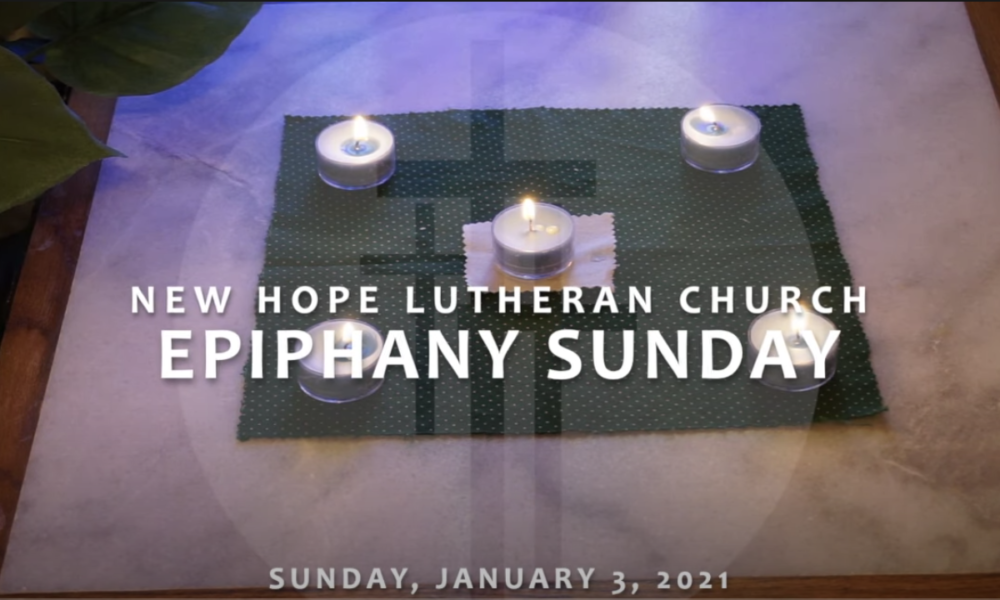 Epiphany Sunday 2021