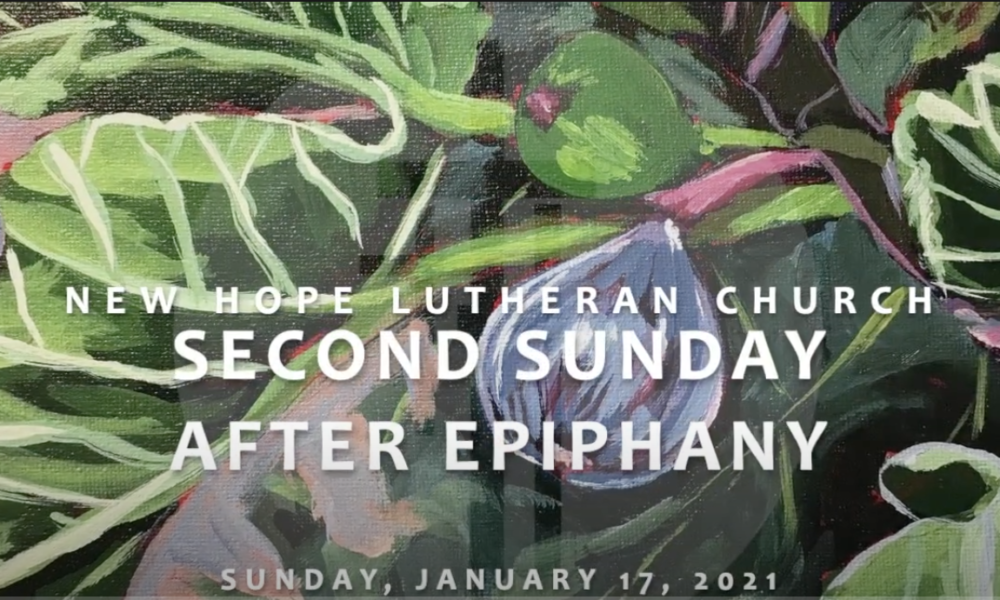 Second Sunday After Epiphany